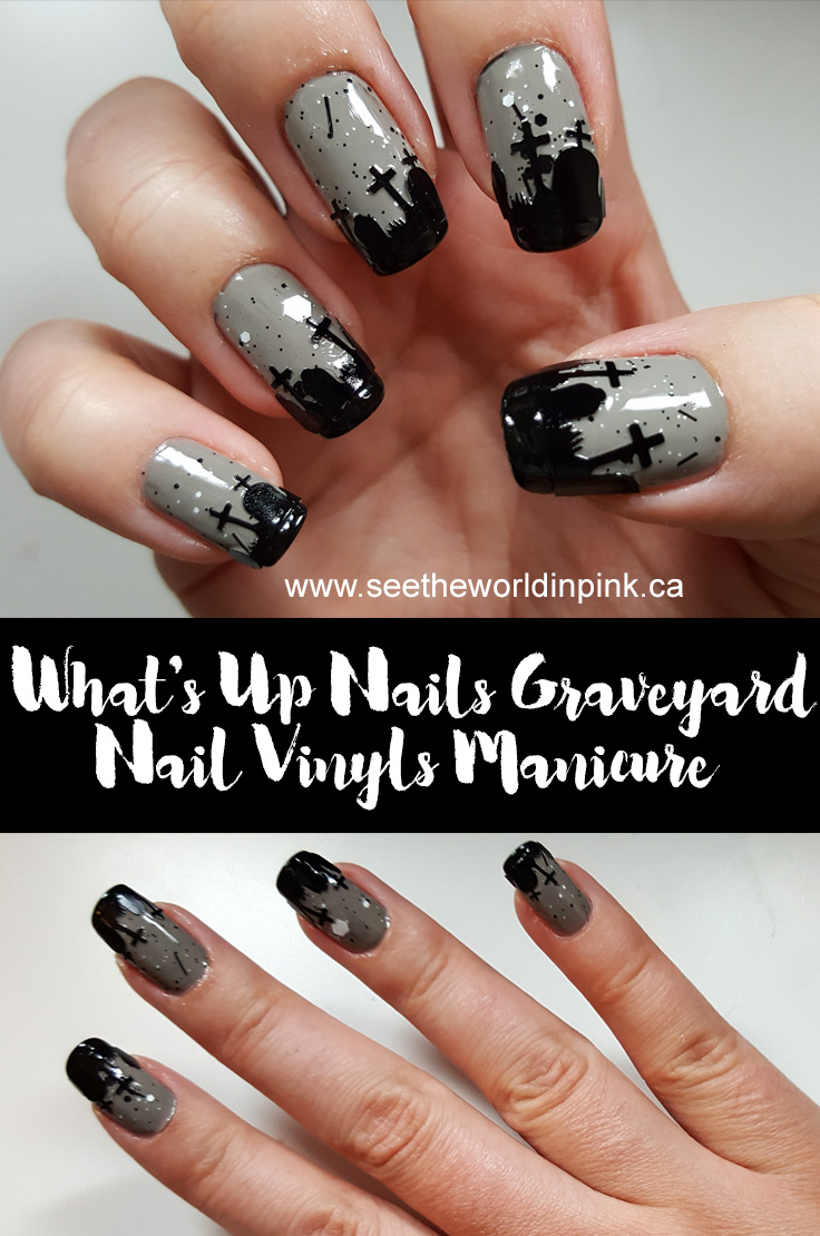 Manicure Monday - Graveyard Nails!