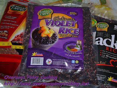 Purple Seafood Bringhe - Pirurutong