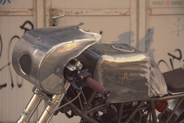 Ducati 350 By Moto Sumisura Hell Kustom