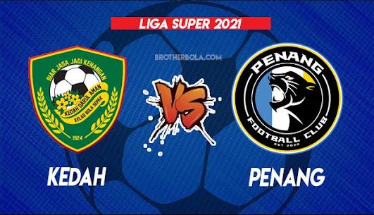 Live Streaming Kedah vs Penang 24.7.2021