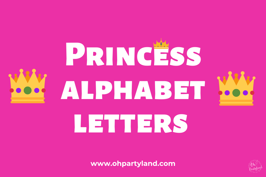 princess-alphabet