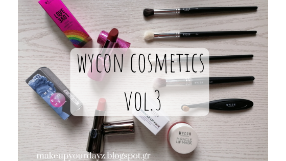 Review: Wycon Cosmetics vol.3
