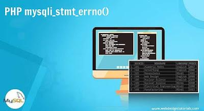 PHP mysqli_stmt_errno() Function