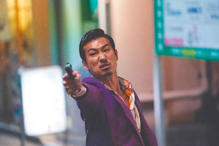 The Last of the Wolves (The Blood of Wolves Level 2) film - Kazuya Shiraishi