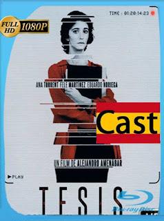 Tesis [1996] HD [1080p] Castellano [GoogleDrive] SilvestreHD