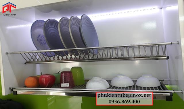 tu bep, phụ kiện tủ bếp, phụ kiện inox