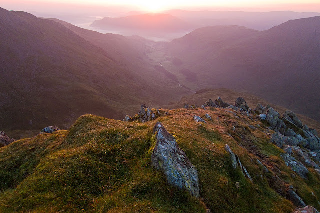 Sunrise from Nethermost pike
