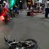 Motoboy tem fratura na perna após acidente no centro de SAJ