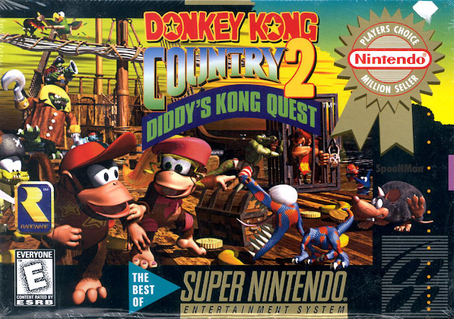 Donkey Kong Country 2: Diddy's Kong Quest - Portada