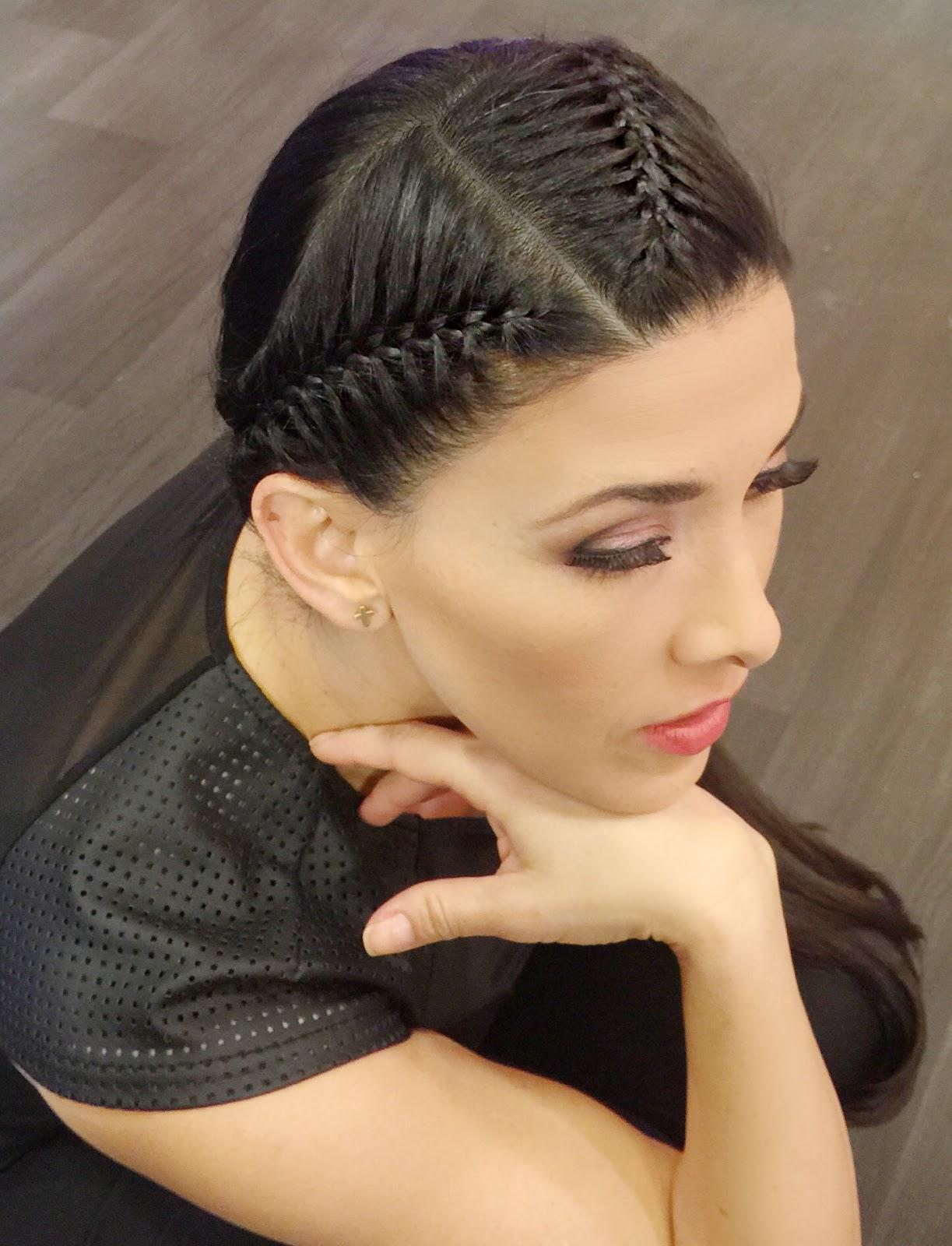 Completamente imperfecto peinados bonitos Fotos de cortes de pelo Consejos - La moda en tu cabello: Lindos peinados con trenzas /2018