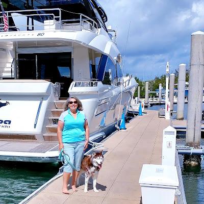 Harborside Riverwalk in Jupiter, Dog friendly riverwalk, dog friendly trails, dog friendly in Jupiter, FL