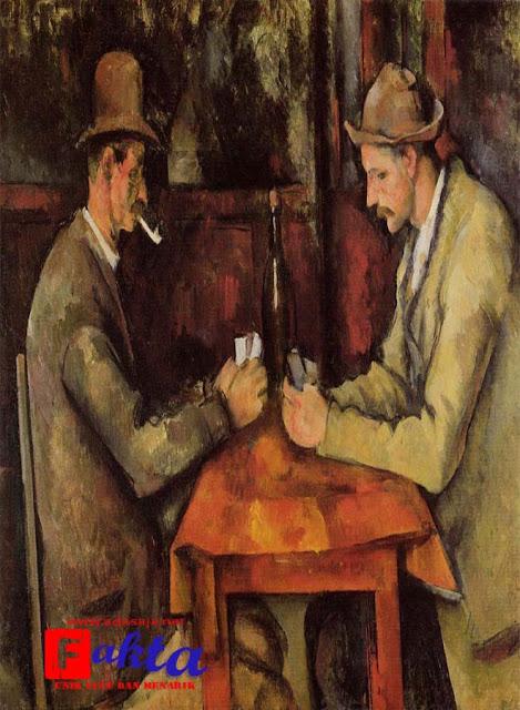 lukisan the card player lukisan termahal di dunia
