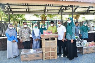 Bupati Batu Bara Secara Resmi Tutup Pelatihan Manajemen Strategi Koperasi Serta Berikan Bantuan UMKM