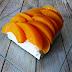 Cheesecake de melocoton sin horno.