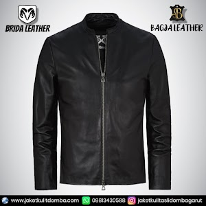 Jual Jaket Kulit Asli Garut Pria Domba Original Brida Leather B20   WA 08813430588