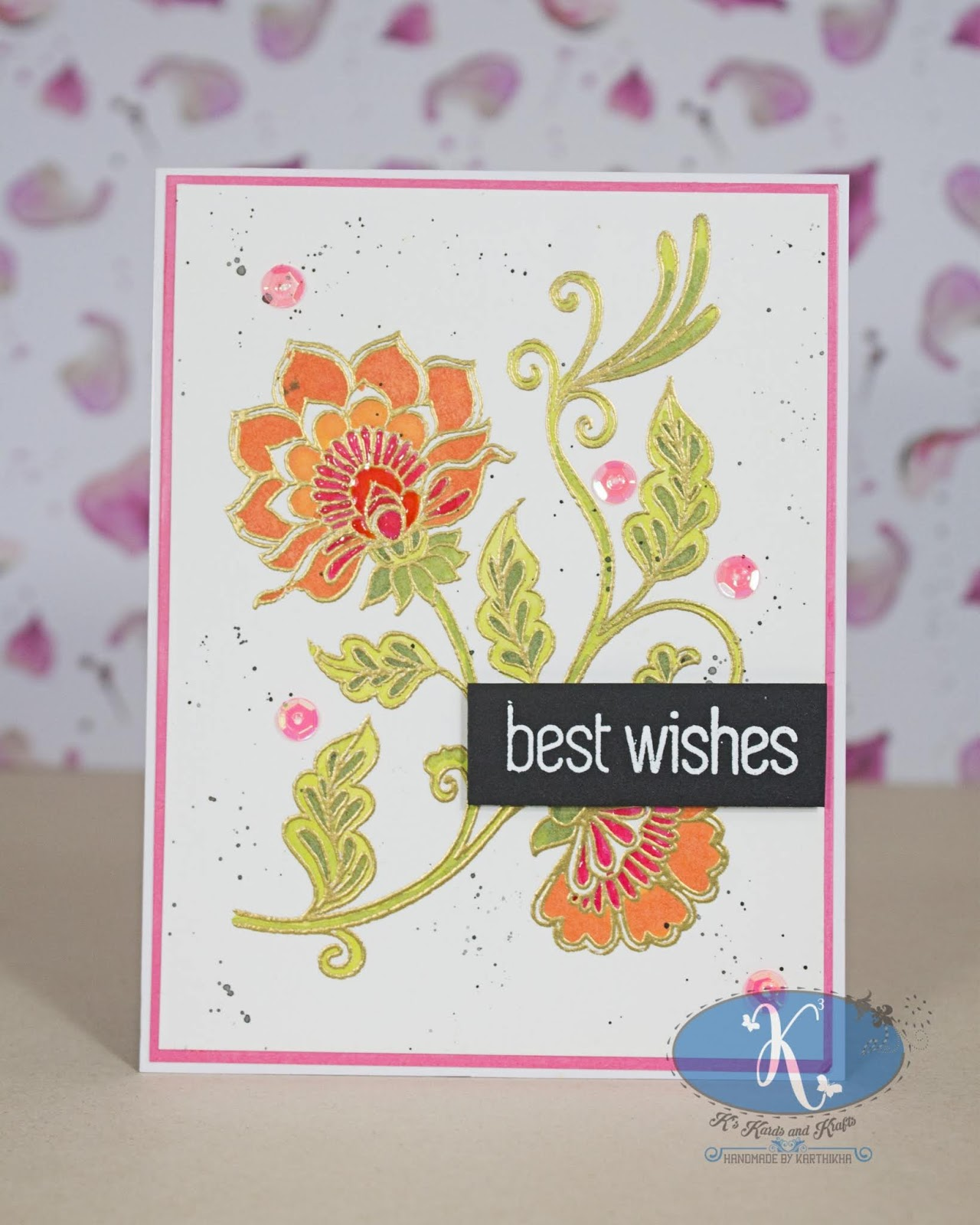 farewell  best wishes card