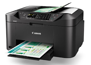 The novel Maxify multifunctional printer volition sure enough appeal to modest business office workers Canon Maxify MB2160 Driver Download