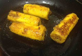 Pazham nirachath kerala snack ethakka nirachath plantain recipes stuffed plantains