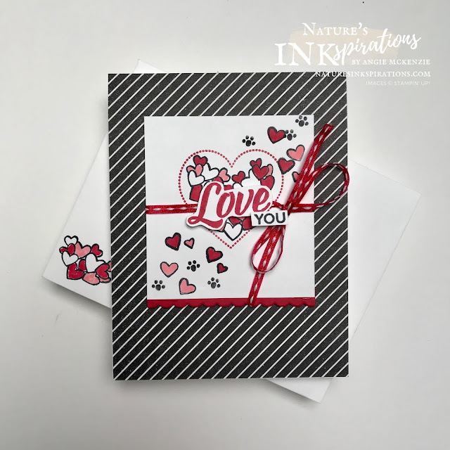 By Angie McKenzie for Paper Pumpkin Blog Hop; Click READ or VISIT to go to my blog for details! Featuring the inspiration from the Sending Hearts January 2021 Paper Pumpkin Kit using the Heartfelt, Pampered Pets, Kangaroo & Company and Let's Create Together Stamp Sets by Stampin' Up!; #lovecards #valentinecards #stamping #heartfeltstampset #pamperedpetsstampset #kangarooandcompanystampset #letscreatetogetherstampset #stampinupdemo #januaryjune2021minicatalog #20202021annualcatalog #truelovedesignerseriespaper #inspiredbypaperpumpkin #paperpumpkin #sendingheartsjanuary2021kit #naturesinkspirations #makingotherssmileonecreationatatime #stampinup #coloringwithblends #handmadecards