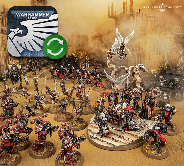 actualización app warhammer 40,000