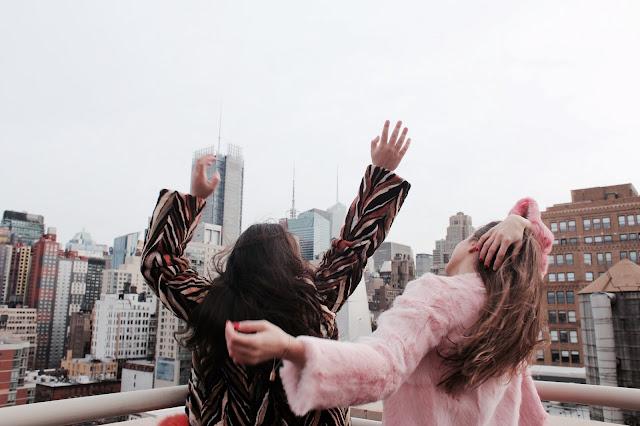Kelly Fountain at New York Fashion Week