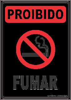 c463eb4e330e0 Ponto Visual Catálogo Virtual  Placa de sinalização Proibido Fumar