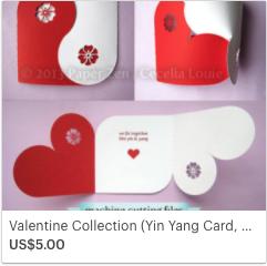 SVG Yin Yang Card