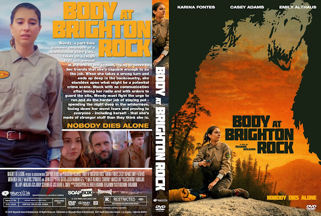 Body at Brighton Rock DVD DVD Cover