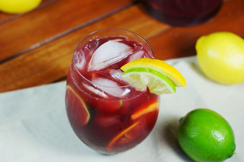 Triple Citrus Sangria