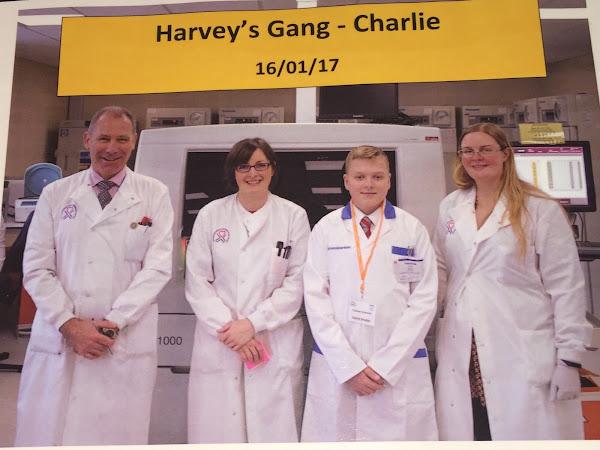 Harvey's Gang LIVE in Ninewells hospital, Dundee