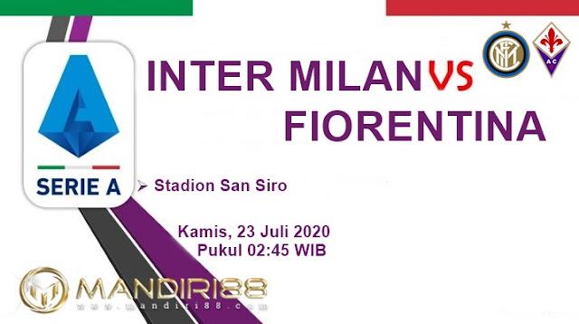Prediksi Inter Milan Vs Fiorentina, Kamis 23 Juli 2020 Pukul 02.45 WIB @ RCTI