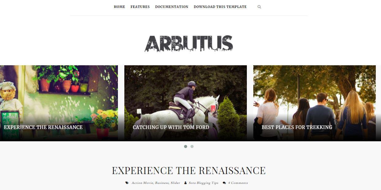 Arbutus-premium-version-responsive-blogger-template-free-download