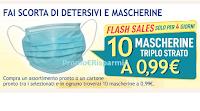 Logo Casa Henkel : con 1 assortimento avrai 10 Mascherine protettive triplo strato!