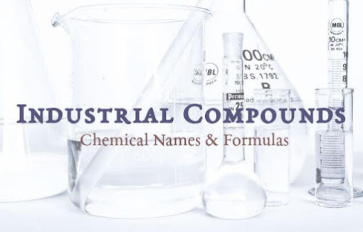 Industrial Compounds and their Chemical Names