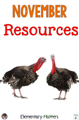 November Resources: Suggestions for resources for Election Day, Veterans Day, and Thanksgiving Day.