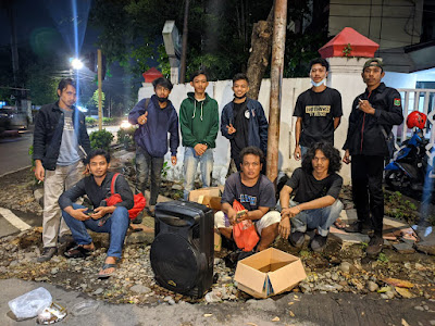 KMKB-Makassar Galang Dana Untuk Bantuan Korban Kebakaran di Bima