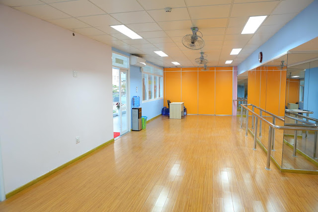 Phòng học khiêu vũ  - Trường nhạc SMS quận 2 - Cơ sở 3