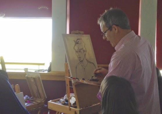 portrait oils composition dublin workshop art class