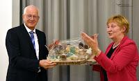 Volker Tüxen wird in den Ruhestand verabschiedet