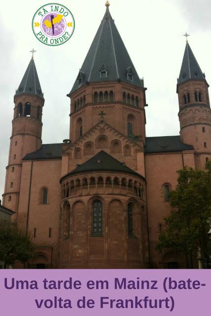 Uma tarde em Mainz (Alemanha)