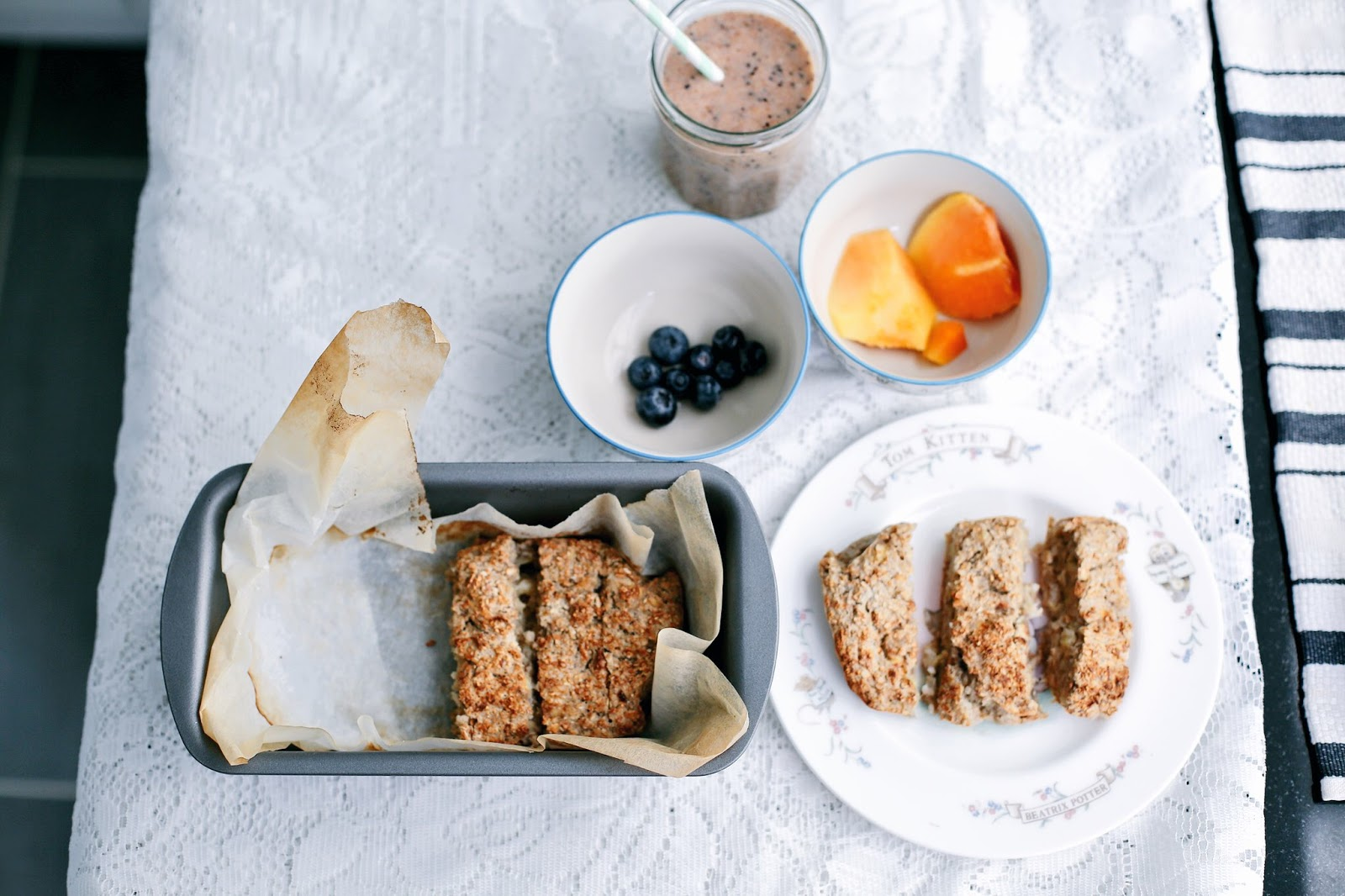 refined sugar free banana bread