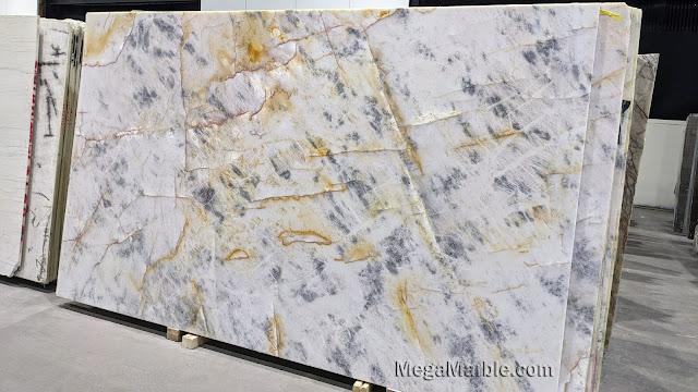Cristallo Azur d'Or Quartzite 2cm