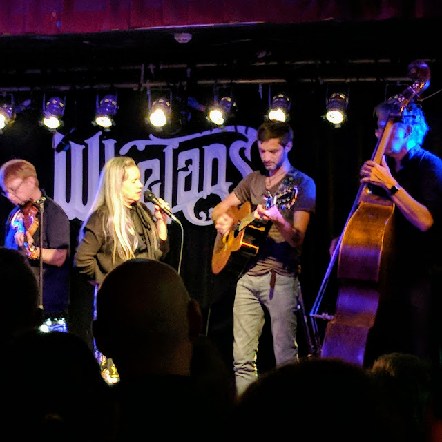 One day in Dublin itinerary: Natalie Merchant sings with a trad band at Whelan's on Camden St.