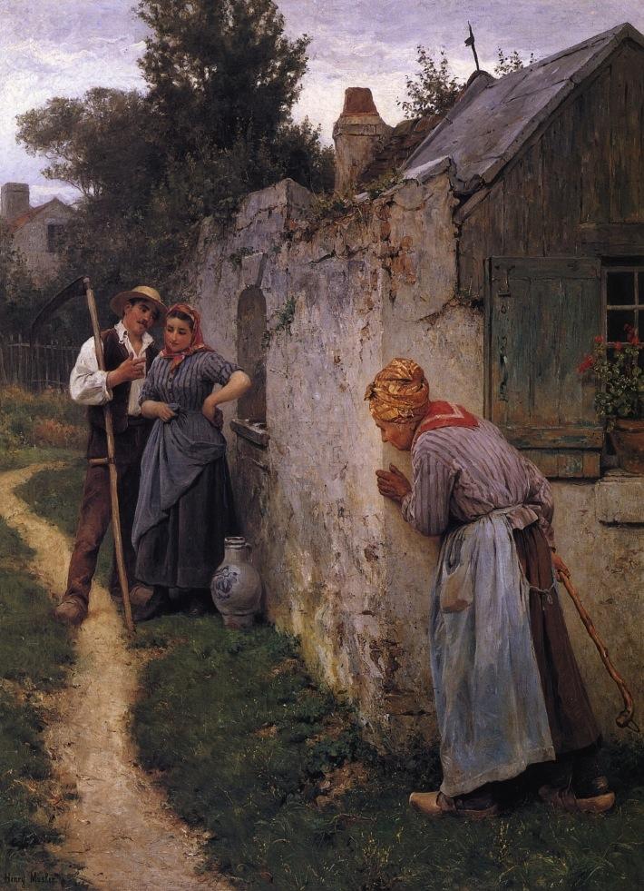 19th Century American Paintings Henry Mosler