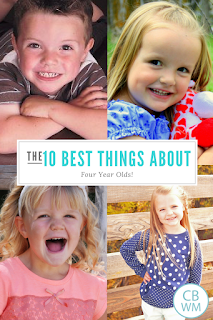 The ten best things about four year olds