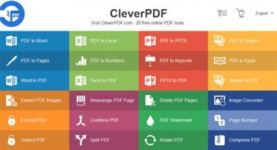 تحميل برنامج ممتاز للتعامل مع مستندات Office وتنسيق (CleverPDF 3.0.0 (PDF