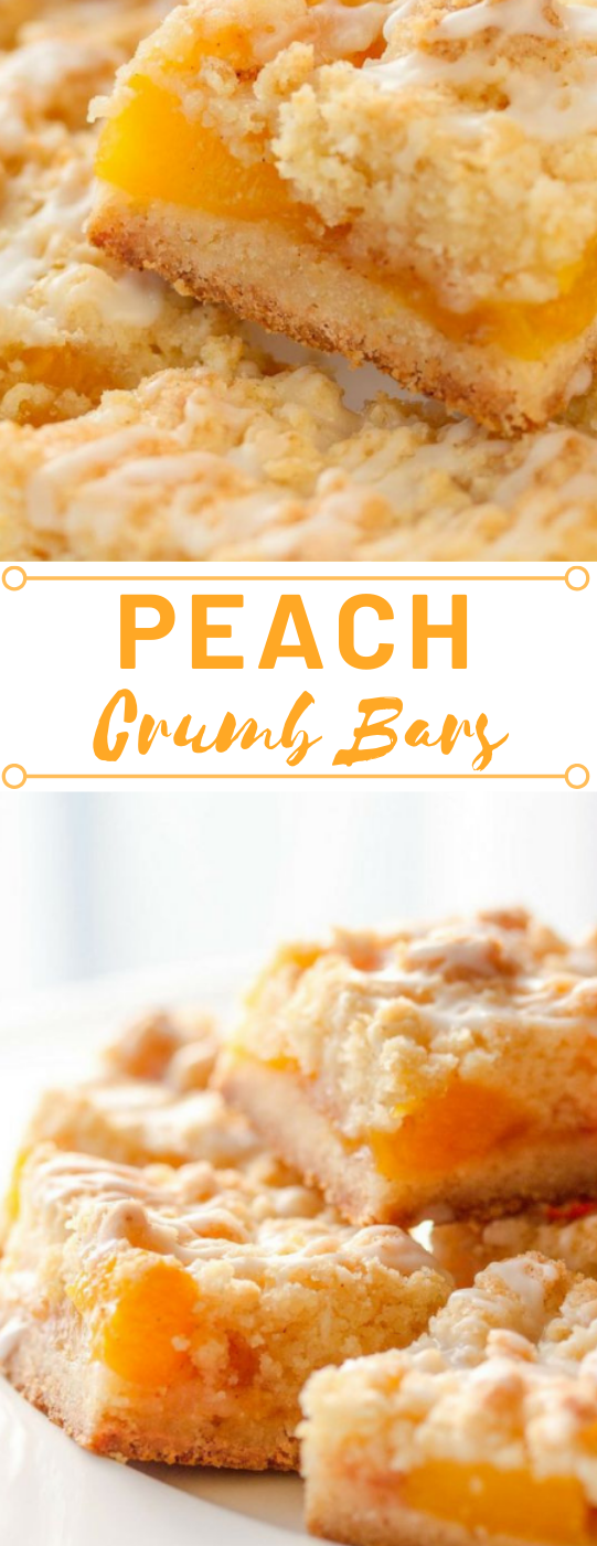 Fresh Peach Crumb Bars #desserts #peach #crumb #bars #pumpkin