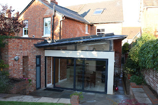 Kitchen extension on Edwardian house