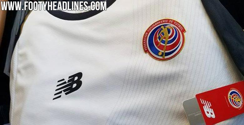 592b723f6 Costa Rica 2018 World Cup Home Kit. This is the Costa Rica 2018 home  jersey. Released under the slogan  Declare your DNA  ...