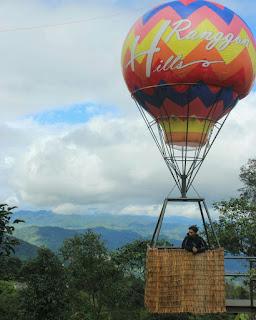 spot foto balon udara ranggon hills